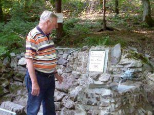Günter Sandau hat die Maurerarbeiten erledigt.