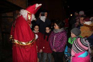 ...und der Nikolaus hatte auch für sie etwas mitgebracht.