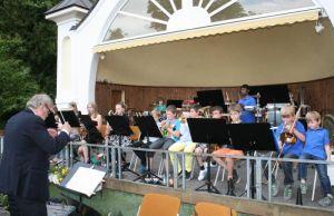 Die Jüngsten des Blasorchesters Herzberg