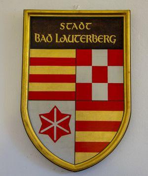"""""""Historisches Erinnerungsstück"""": Das bis 1974 gültige Bad Lauterberger Wappen."""