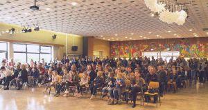 Die Begrüßung der zahlreichen Besucher erfolgte durch die didaktische Leiterin Inger Schweer
