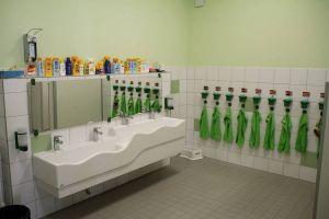 Einer der Waschräume