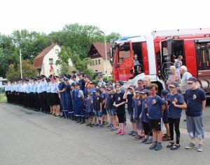 Gut aufgestellt: die Freiwillige Feuerwehr Bad Lauterberg