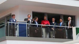 Geschäftsführer Erik Cziesla begrüßte die Gäste