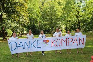 Endlich einmal Glück gehabt: bei der Kompan Spielplatz Initiative errang der Bad Lauterberger Kinderschutzbund den 1. Preis