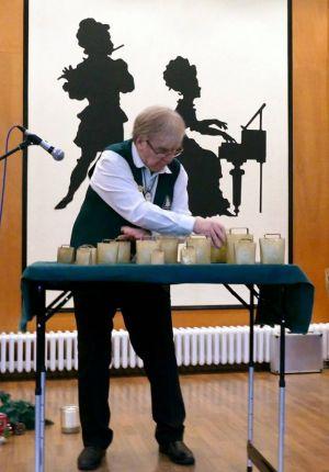 Horst Jäde bediente auch die Glocken.