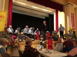 Der SoVD-Vorsitzende Ulrich Helmboldt begrüßte die Gäste...