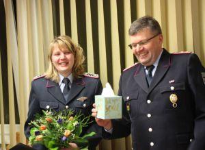 Sonja Großheim gibt nach acht erfolgreichen Jahren ihr Amt als Kinderfeuerwehrwartin ab