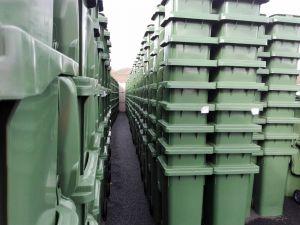 17.000 Komposttonnen werden in diesen Tagen ausgeliefert.