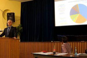 KKT, Dr. Uwe Brinkmann stellte den Haushaltsplan 20192020 vor.