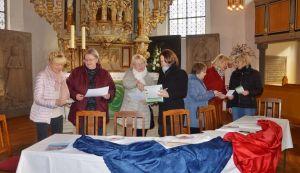 Vorbereitungen in St Aegidien