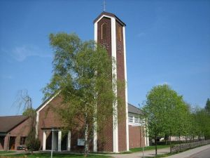 Die Christuskirche in der Margeritenstraße in Herzberg.