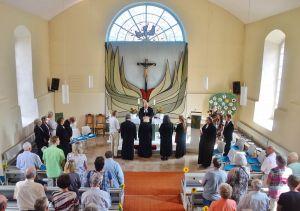 In der Katharinen-Kirche in Steina wird gerne gefeiert.