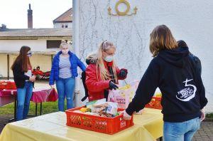Die Jugendlichen freuten sich, helfen zu können