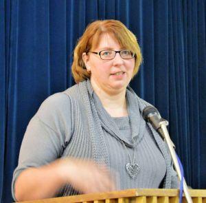 Kirchenkreisamtsleiterin Christa Eulert.
