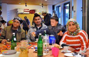 Neben der Hilfe ging es den Initiatoren auch um den persönlichen Kontakt zu Flüchtlingsfamilien.