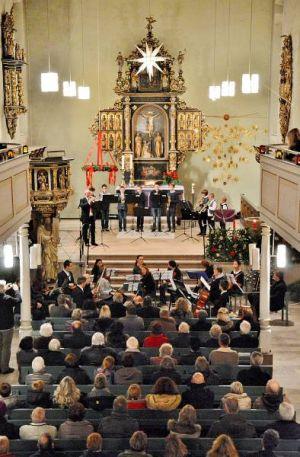 Die Zuhörer erlebten ein abwechslungsreiches und hochkarätiges Konzert.