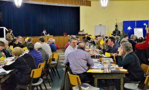 Viele nicht ganz einfache Entscheidungen haben bei der Kirchenkreistagssitzung angestanden…