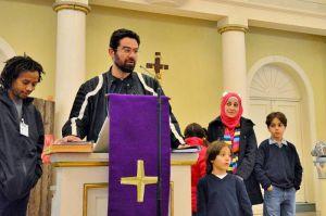 Ayman Darwich hofft, dass seine Bilder ein kleines Stück zum Frieden beitragen.