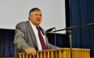 """""""Früher war nicht alles besser"""": Superintendent Volkmar Keil."""