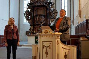 Superintendentin Stephanie von Lingen und Superintendent Volkmar Keil.