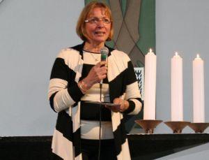 Veronica Muschinsky vom Kirchenvorstand St. Benno