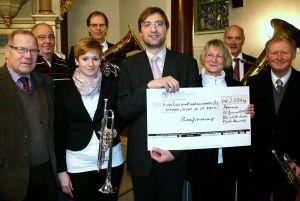 Bonus von der Landeskirche: Bonifizierung 2012.