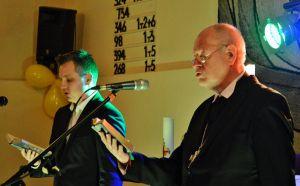 …eröffneten Simon Burger (links) und Eckhard Gorka die Wahl.