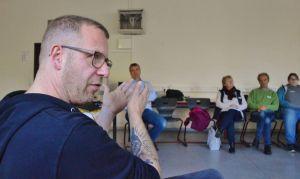 Jan Mönnich und Axel Peter informierten über Jugendarbeit