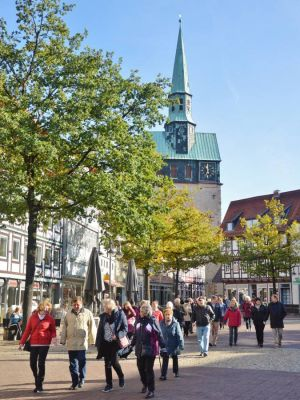 Osterode - Stadtrundgang am Feiertag