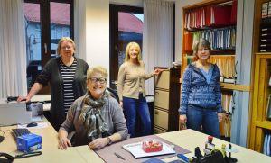 Bettina Haberer, Stefanie Pühn, Cornelia Meidenbauer und Heike Müller