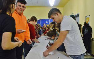 Die Teilnehmer machten deutlich, wofür sie sich interessieren