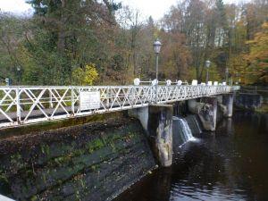 6a  Scholbenwehr- seit 1736 wird hier Wasser aus der Oder...