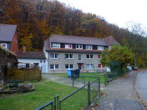 16a Öl- und Farbenmühle im Luttertal - Von 1705 - 1748 betrieb man hier das erste Kupferroser Pochwerk