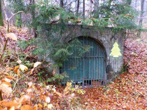46b1 Mundloch des Grimmigstollens  im Tal des Großen Andreasbaches (1953 bis 1959)