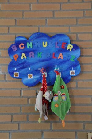 Schnullerparkplatz.