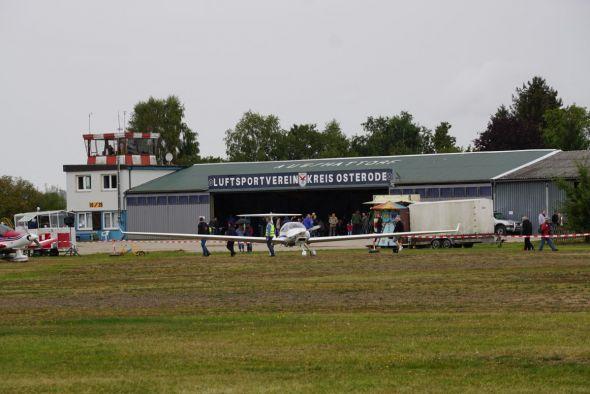 Das Gelände des Luftsportvereins Aue/Hattorf.