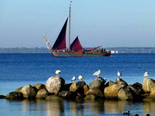 """Der Traditionssegler De Albertha ist eine """"Groninger Seetjalk"""" und lief 1891 vom Stapel."""