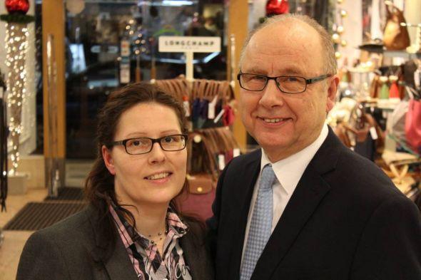 Rebecca Fischer übernimmt den Familienbetrieb von ihrem Vater