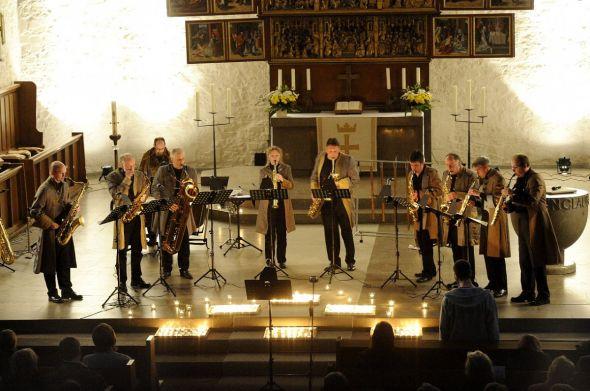 Die Westfälischen Saxophoniker.