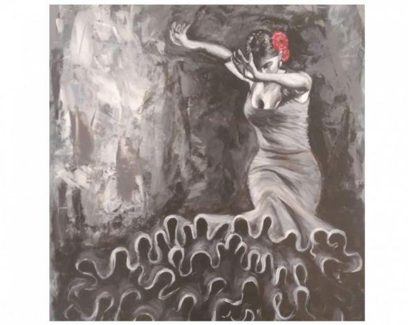 Vom Flamenco inspiriert: Ein Bild von Karina Müller.