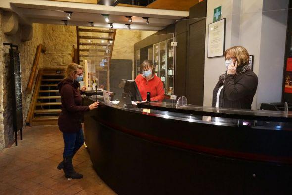 Besucherservice. Foto: A. Behnk, Zisterziensermuseum Kloster Walkenried