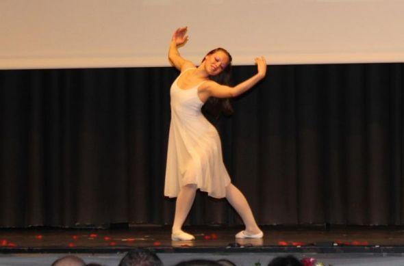 """Michelle Winkler tanzte zu Lionel Richies """"Ballerina Girl"""""""