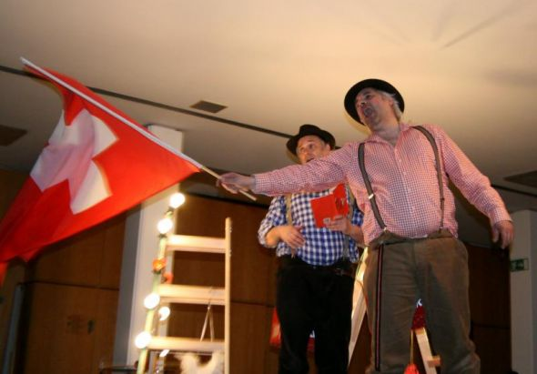 Ohne Nationalhymne kein Schweiz-Feeling...