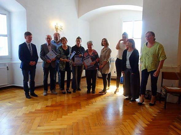 Preisverleihung im Schloss Harzgerode. (Fotos: Monika Wildner)