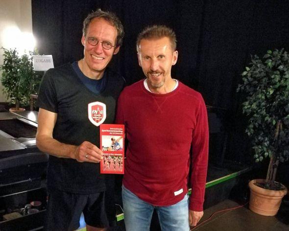Baumann und Behrens in Einbeck: 2016 war Dieter Baumann (links) Ehrengast des von Rainer Behrens organisierten Osteroder Meetings. Er weiß also, wovon er spricht, wenn er einen Besuch der nächsten Auflage ans Herz legt.