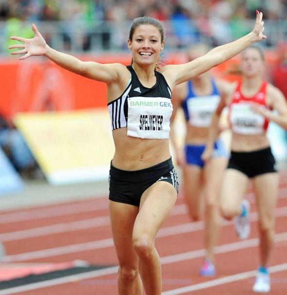 Will in Osterode ihre Form testen: Ruth Sophia Spelmeyer, mehrfache Deutsche Meisterin über 400 Meter. (Foto: Iris Hensel)