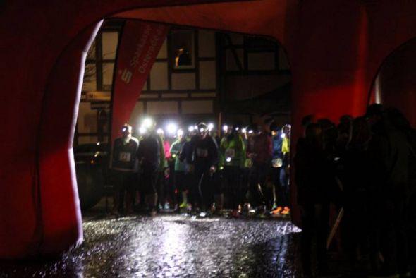 Beim Trailrun-Orientierungslauf gingen die Teilnehmer mit Stirnlampe zu zweit auf die Strecke