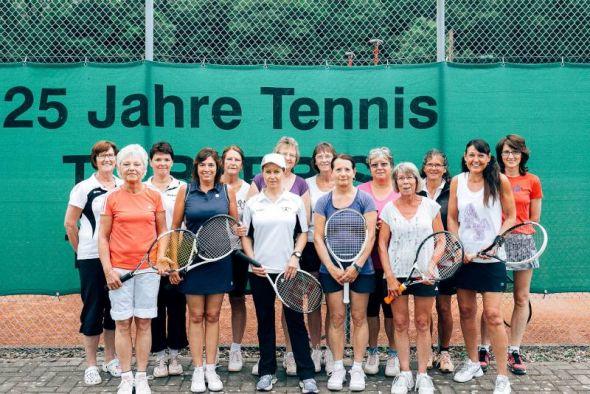 Beim Freundschaftsturnier der Barbiser und Scharzfelder Tennisdamen gab es gute Laune…