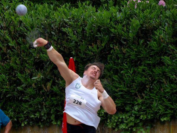 Wie im Vorjahr sorgte Kugelstoß-Weltmeister David Storl für den sportlichen Höhepunkt.